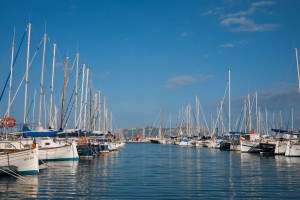 Pollensa boats, Marina