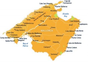 location of pollensa in majorca